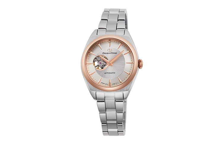 ORIENT STAR: Mechanical Contemporary Watch, Metal Strap - 30.0mm (RE-ND0101S)