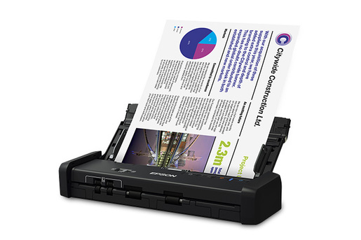 Epson DS-320 Portable Duplex Document Scanner with ADF - Refurbished