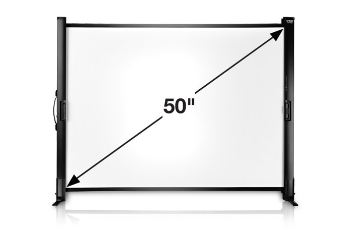 ES1000 Ultra Portable Tabletop Projection Screen