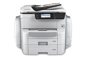 WorkForce Pro WF-C869R Network Multifunction Color Printer