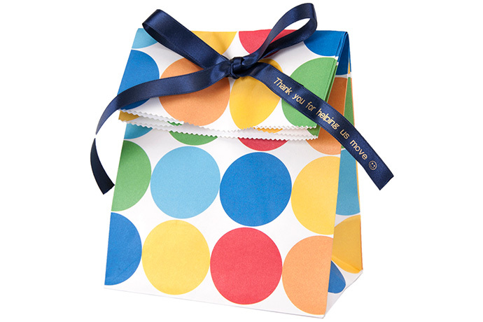 LabelWorks Printable Ribbon Pack (Gold-on-Navy)