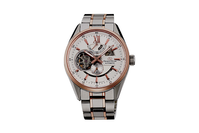 ORIENT STAR: Mechanical Contemporary Watch, Metal Strap - 41.0mm (DK05001W)