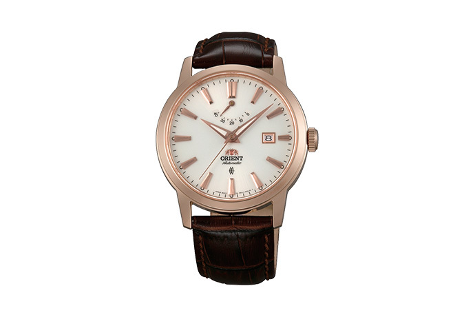 ORIENT: Mechanical Contemporary Watch, Leather Strap - 41.0mm (AF05001W)