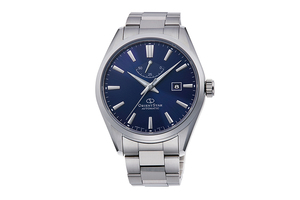 ORIENT STAR: Mecánico Contemporary Reloj, Metal Correa - 42.0mm (RE-AU0403L)