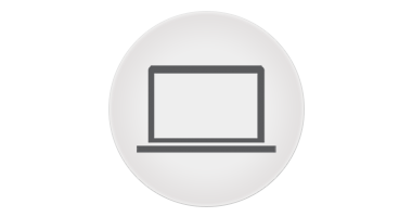 Icon of a laptop