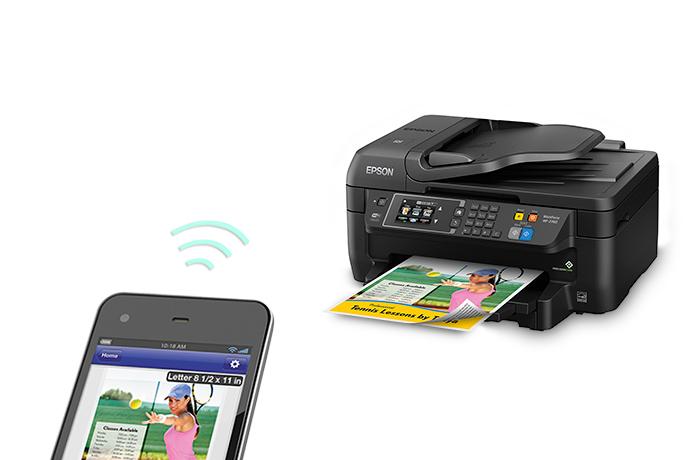 Epson WorkForce WF 2760 All In One Printer