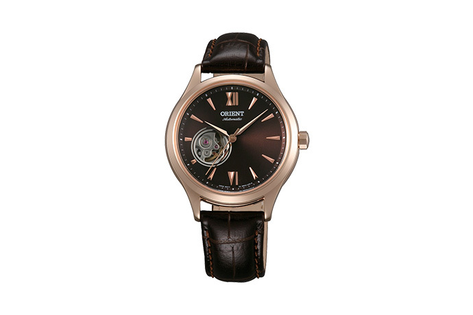 ORIENT: Mechanical Contemporary Watch, Leather Strap - 36.0mm (DB0A001T)