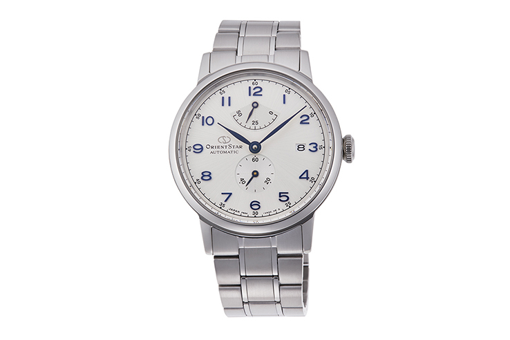 ORIENT STAR: Mechanical Classic Watch, Metal Strap - 38.7mm (RE-AW0006S)