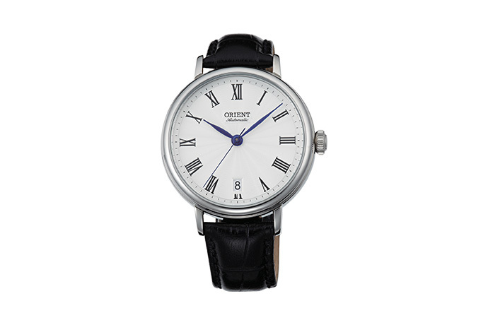 ORIENT: Mechanical Classic Watch, Leather Strap - 37.5mm (ER2K004W)