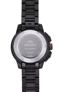 ORIENT: Mechanical Sports Watch, Metal Strap - 45.0mm  (RA-AC0L06B) Europe Limited