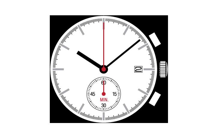 Center Chronograph  YM90