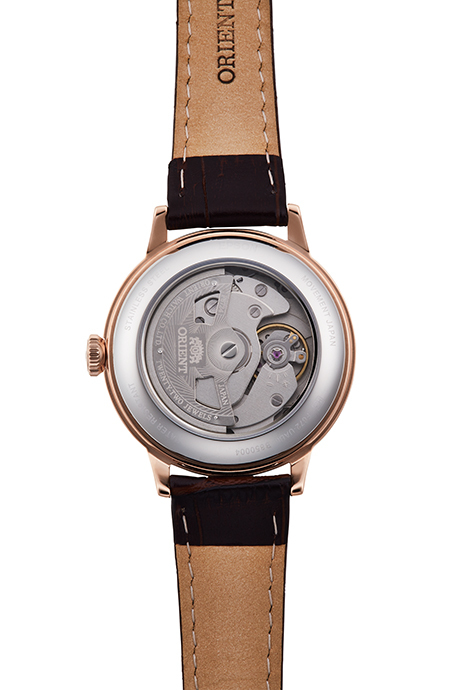 ORIENT: Mechanical Classic Watch, Leather Strap - 36.4mm (RA-AC0010S)
