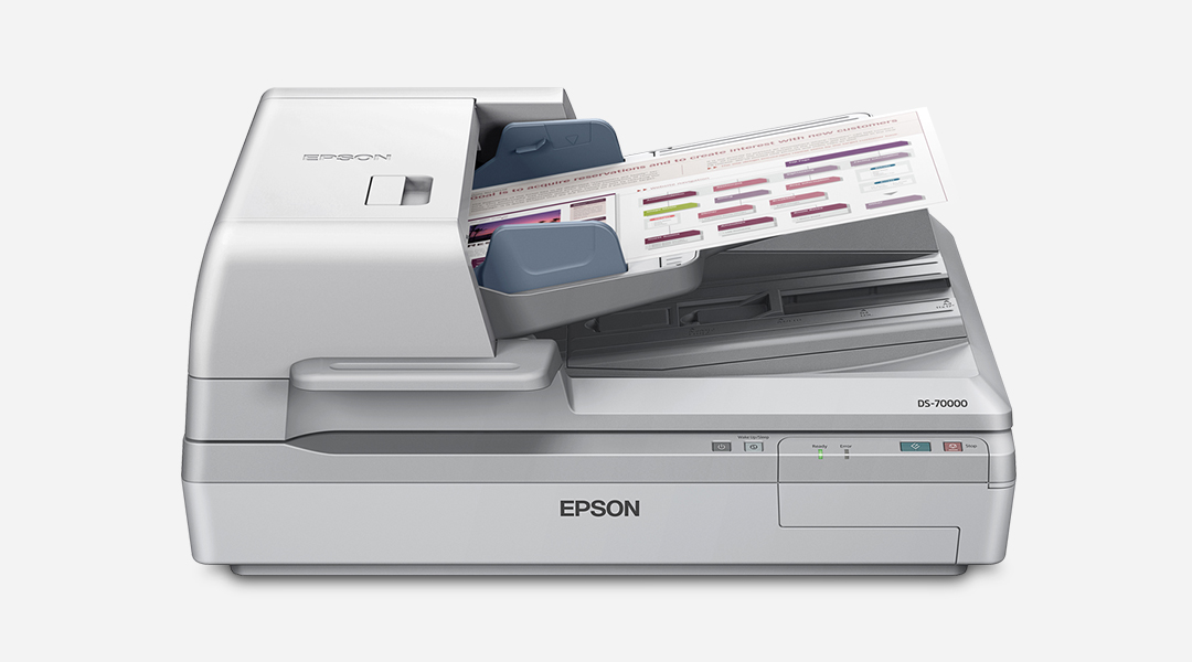 Epson Business Document Scanners  Epson Us