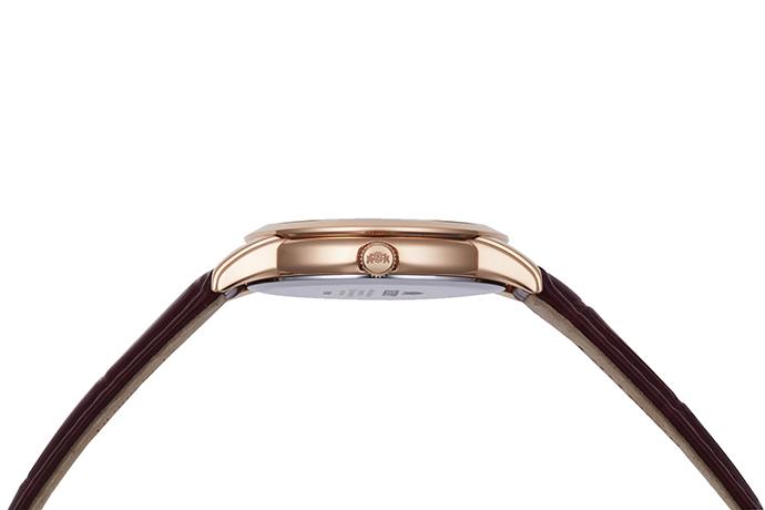ORIENT: Kwarcowy Klasyczny Zegarki, Skórzany Pasek - 34.8mm (RA-KA0001A)