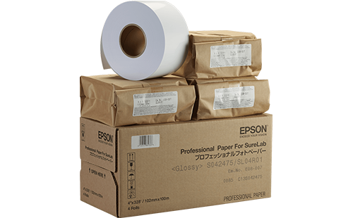 "Epson Pro Glossy Paper - SL 5""x100m 1 Roll"