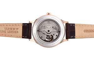 ORIENT: Mechanical Contemporary Watch, Leather Strap - 35.6mm (RA-AG0023Y)