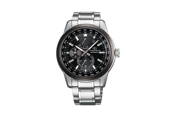 ORIENT STAR: Mechanical Contemporary Watch, Metal Strap - 41.5mm (JC00001B)