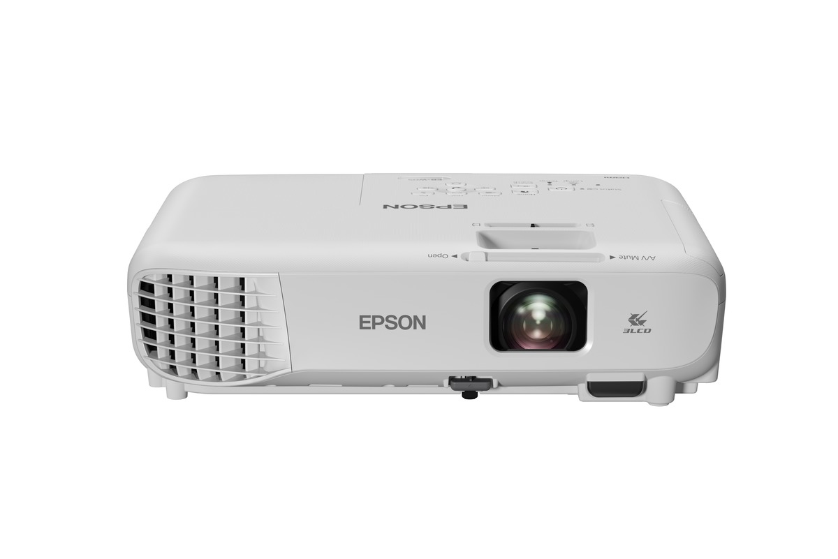 Epson w05 wxga 3lcd projector corporate and education for Epson document projector