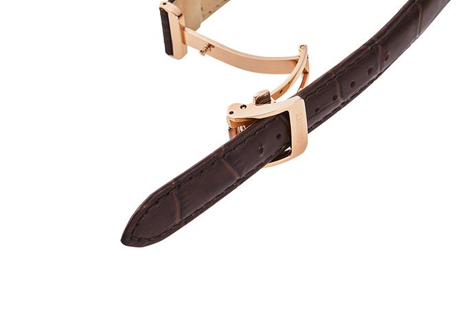 ORIENT: Kwarcowy Klasyczny Zegarki, Skórzany Pasek - 34.8mm (RA-KA0002Y)