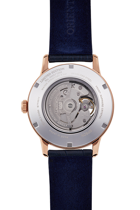 ORIENT: Mechanical Classic Watch, Leather Strap - 42.0mm (RA-AS0006L)