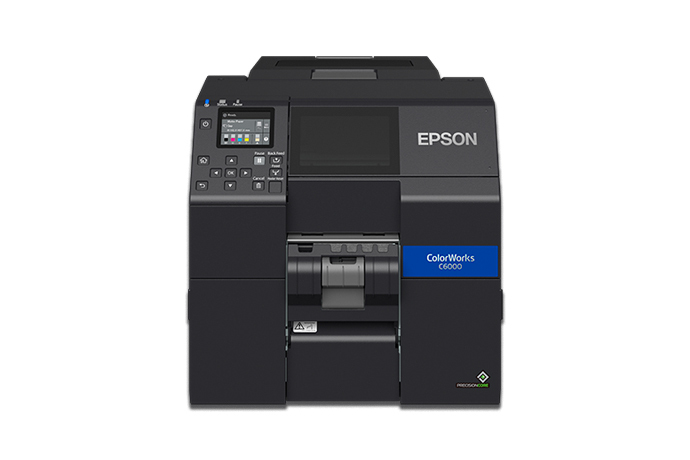 ColorWorks CW-C6000P Colour Inkjet Label Printer with Peel-and-Present