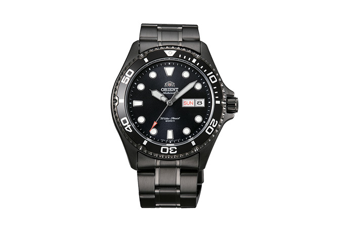 ORIENT: Mechanical Sports Watch, Metal Strap - 41.5mm (AA02003B)
