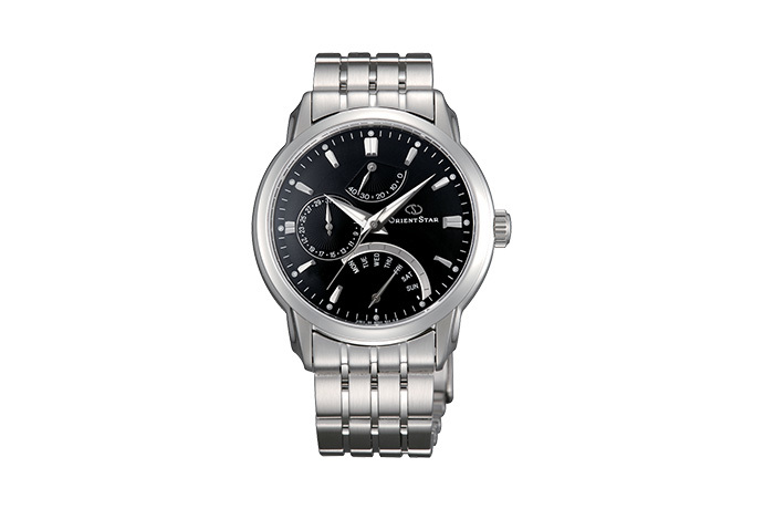 ORIENT STAR: Mechanical Contemporary Watch, Metal Strap - 39.5mm (DE00002B)
