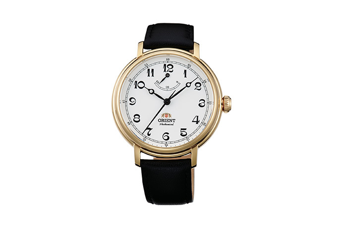ORIENT: Mechanical Classic Watch, Leather Strap - 40.0mm (DD03001W)