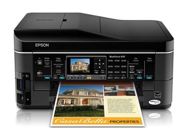 epson workforce 645 workforce series all in ones printers rh epson com Epson Workforce 610 Printer Epson Workforce 610 Paper Tray