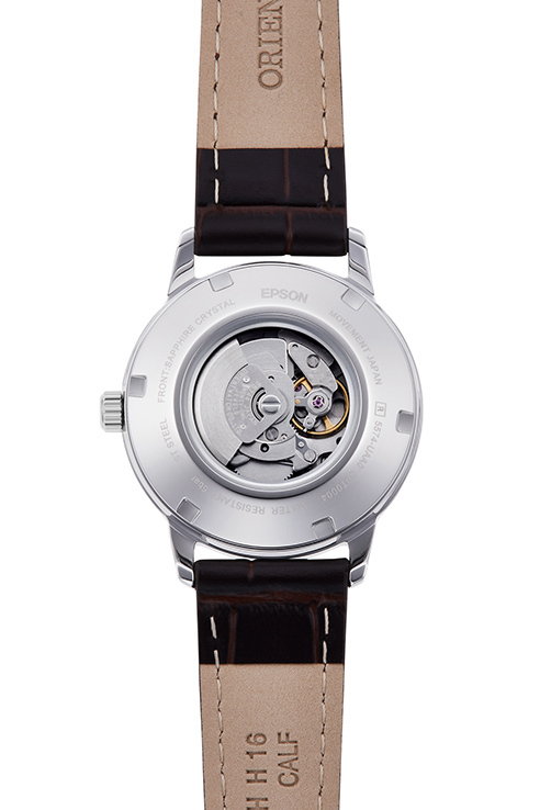 ORIENT: Mechanical Contemporary Watch, Leather Strap - 32.0mm (RA-NR2005S)