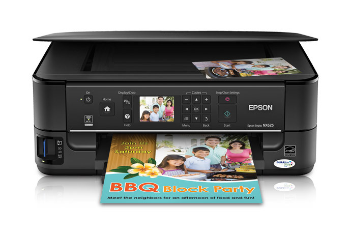 epson stylus nx625 all in one printer inkjet printers for work rh epson ca Epson Stylus NX420 Epson NX625 Software