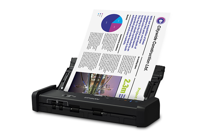WorkForce ES 200 Portable Duplex Document Scanner with ADF