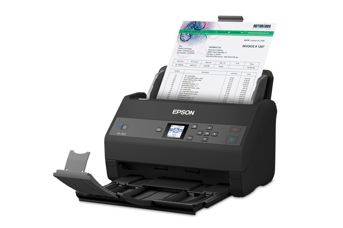 WorkForce ES-865 Color Duplex Document Scanner