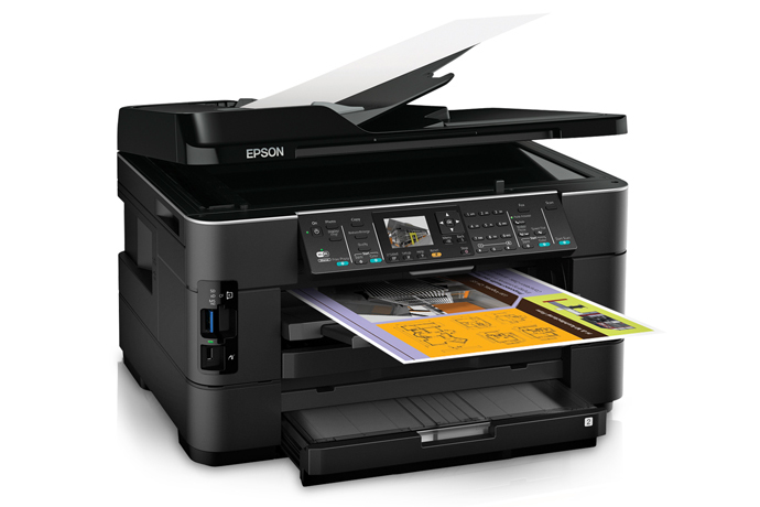Epson Workforce Wf 7520 All In One Printer Inkjet