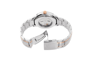 ORIENT: Mechanical Classic Watch, Metal Strap - 41.5mm (RA-AS0101S)