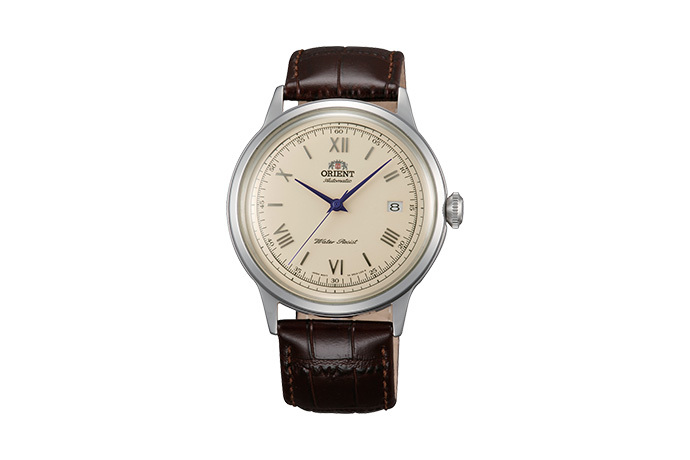 ORIENT: Mechanical Classic Watch, Leather Strap - 40.5mm (AC00009N)
