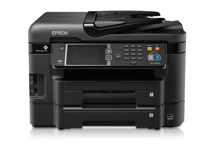 Epson WorkForce WF-3640 All-in-One Printer - Refurbished