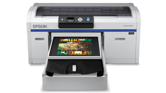 Epson SureColor SC-F2000 Direct to Garment (DTG) Textile Printer