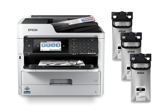 WorkForce Pro WF-M5799 Monochrome MFP Supertank Printer