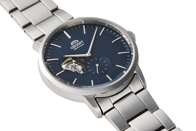 ORIENT: Mechanical Contemporary Watch, Metal Strap - 40mm (RA-AR0101L)
