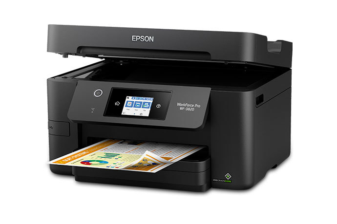WorkForce Pro WF-3820 Wireless All-in-One Printer