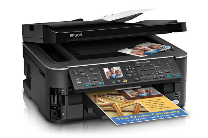 epson workforce 630 all in one printer inkjet printers for rh epson ca Epson Workforce 630 Screen Display Epson Workforce 635 Ink