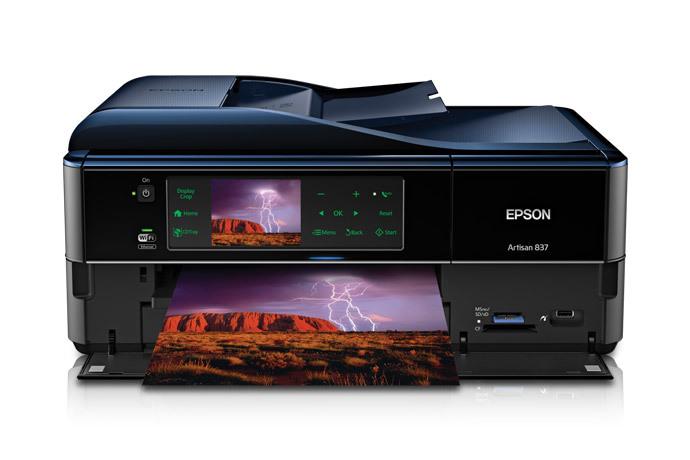 epson artisan 837 all in one printer inkjet printers for home rh epson com Print Head for Epson Artisan 837 Print Head for Epson Artisan 837