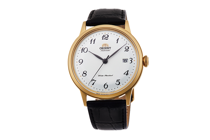 ORIENT: Mechanical Classic Watch, Leather Strap - 40.5mm (RA-AC0002S)
