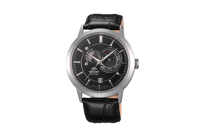 ORIENT: Mechanisch Modern Uhr, Leder Band - 41.5mm (ET0P003B)