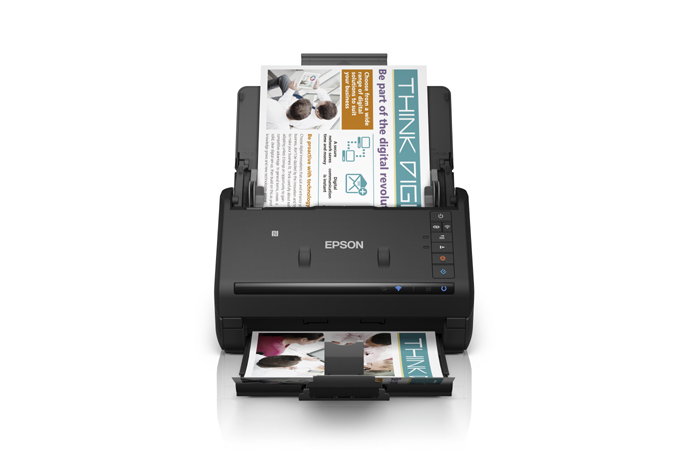 Workforce Es 500w Wireless Duplex Document Scanner