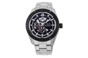 ORIENT STAR: Mechanical Sports Watch, Metal Strap - 43.2mm (RE-AV0A01B)