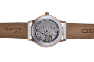 ORIENT: Mechanical Contemporary Watch, Leather Strap - 36.5mm (RA-AK0004A)