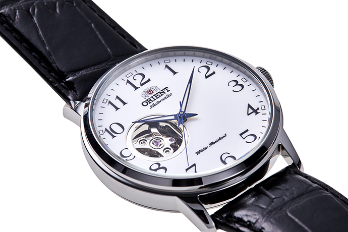 ORIENT: Mechanical Classic Watch, Leather Strap - 41mm (RA-AG0009S)