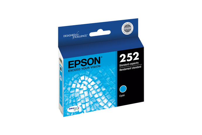 Epson 252, Cyan Ink Cartridge